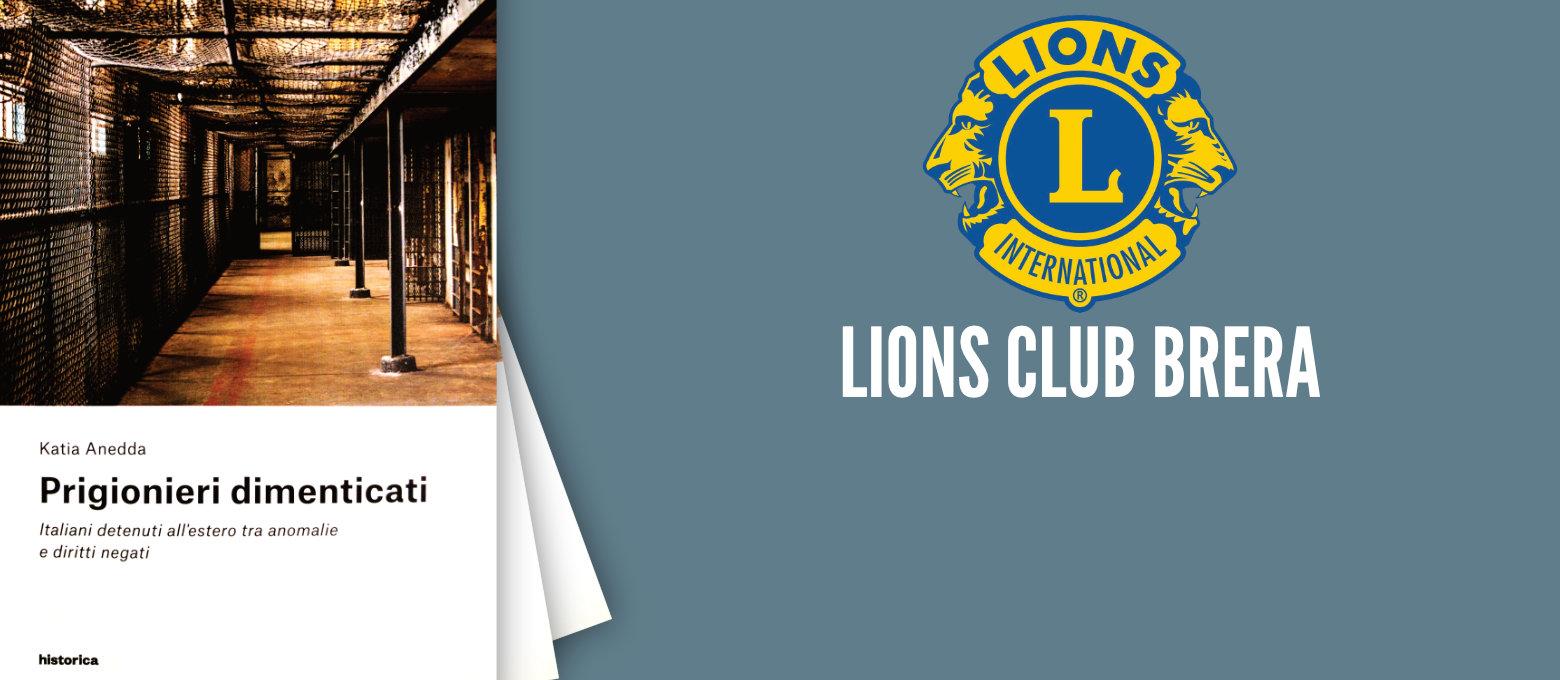 """Lions Club Brera presenta il libro """"Prigionieri Dimenticati"""""""